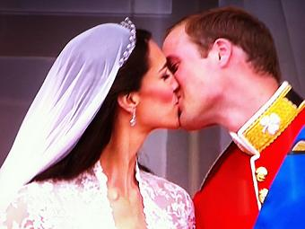 AZED soutient Lady Kate & le Prince William by Mr Azed