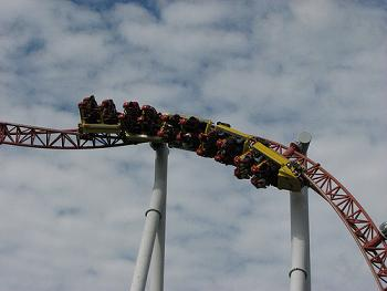 Rollercoaster by hounddiggity via Flickr