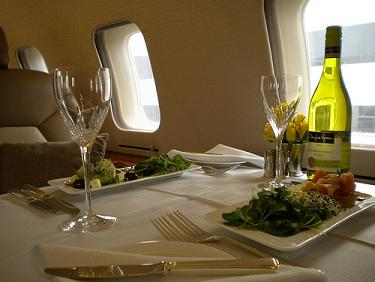 Rent a Jet Fine Dining