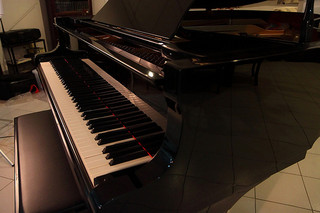 Yamaha C3 Grand Piano by Tim Albano