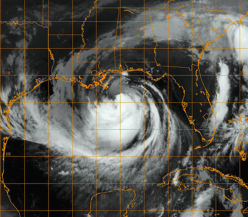 Hurricane Isaac by NASA Imagery